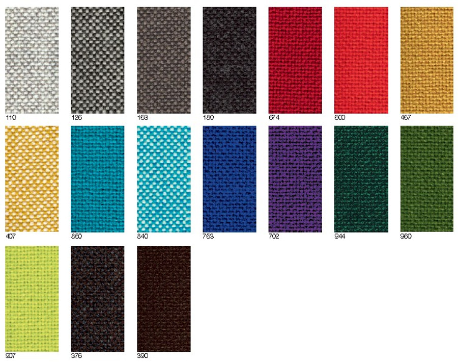 Maharam Hallingdal by Kvadrat 65 Color Swatches