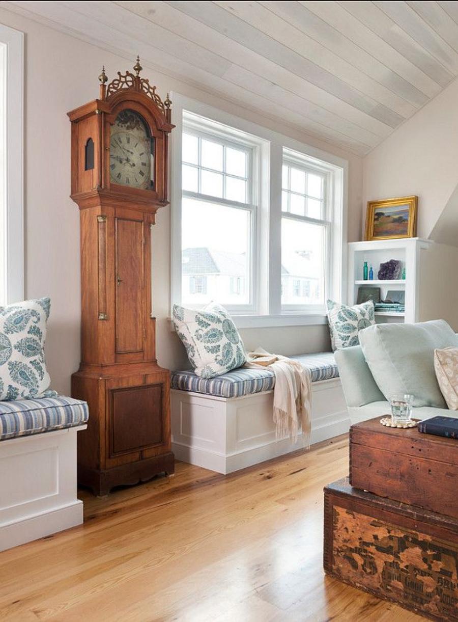 Cushions in Kravet Millstone Ocean 31774 15