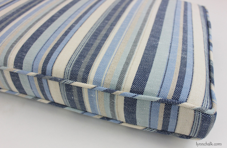 Kravet Millstone Ocean 31774 15 Cushion With Welting 35 X 16 X 2