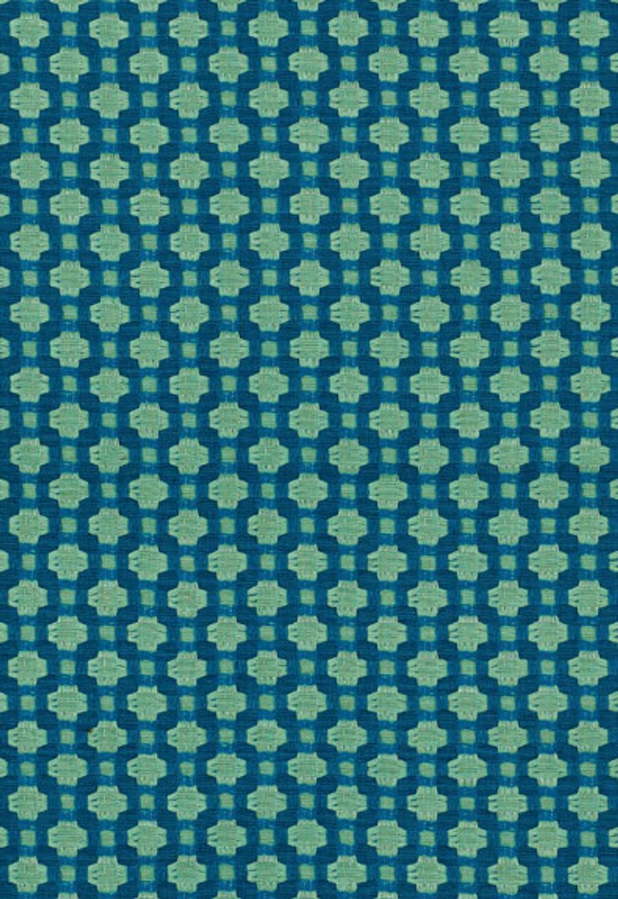 Schumacher Celerie Kemble Betwixt 62613 Peacock Seaglass