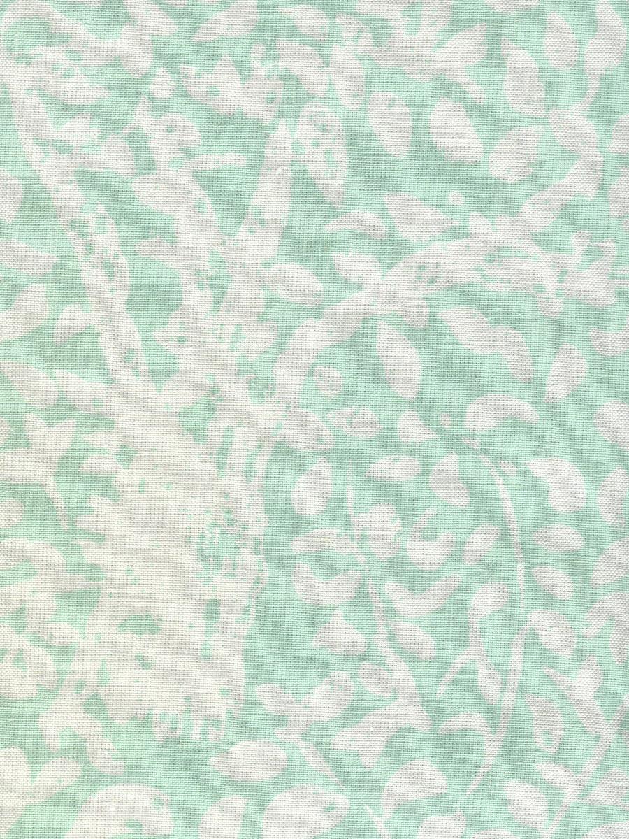 Quadrille Arbre De Matisse Soft Aqua on White