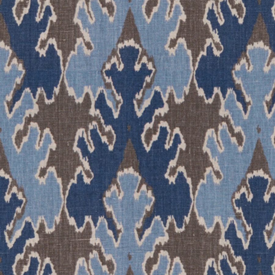 Kelly Wearstler Bengal Bazaar Grey Indigo