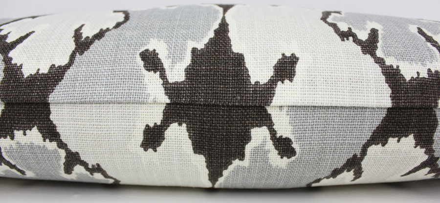ON SALE Kelly Wearstler Bengal Bazaar in Graphite Pillow (Both Sides-14 X 24)  Only 2 Remaining at This Sale Price