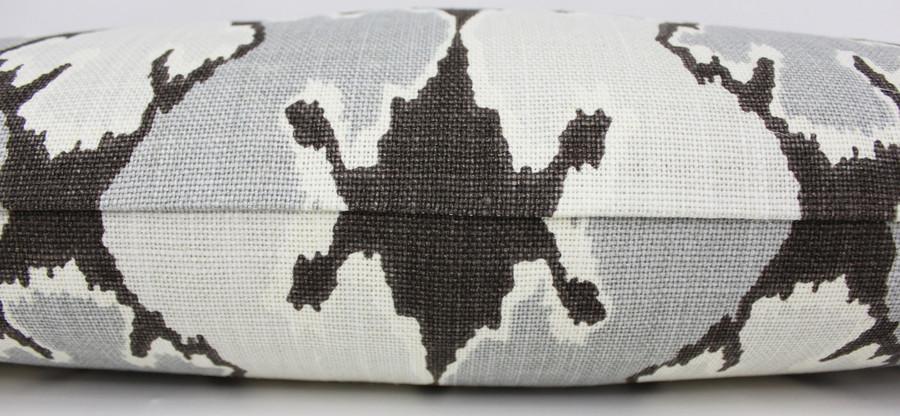 ON SALE Kelly Wearstler Bengal Bazaar in Graphite Pillow 14 X 24