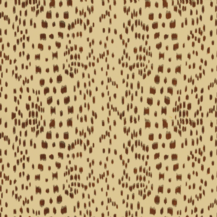 Les Touches in Tan (comes in fabric and wallpaper)