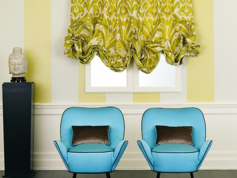 Balloon Shade in Dedar Ikat 9008/04