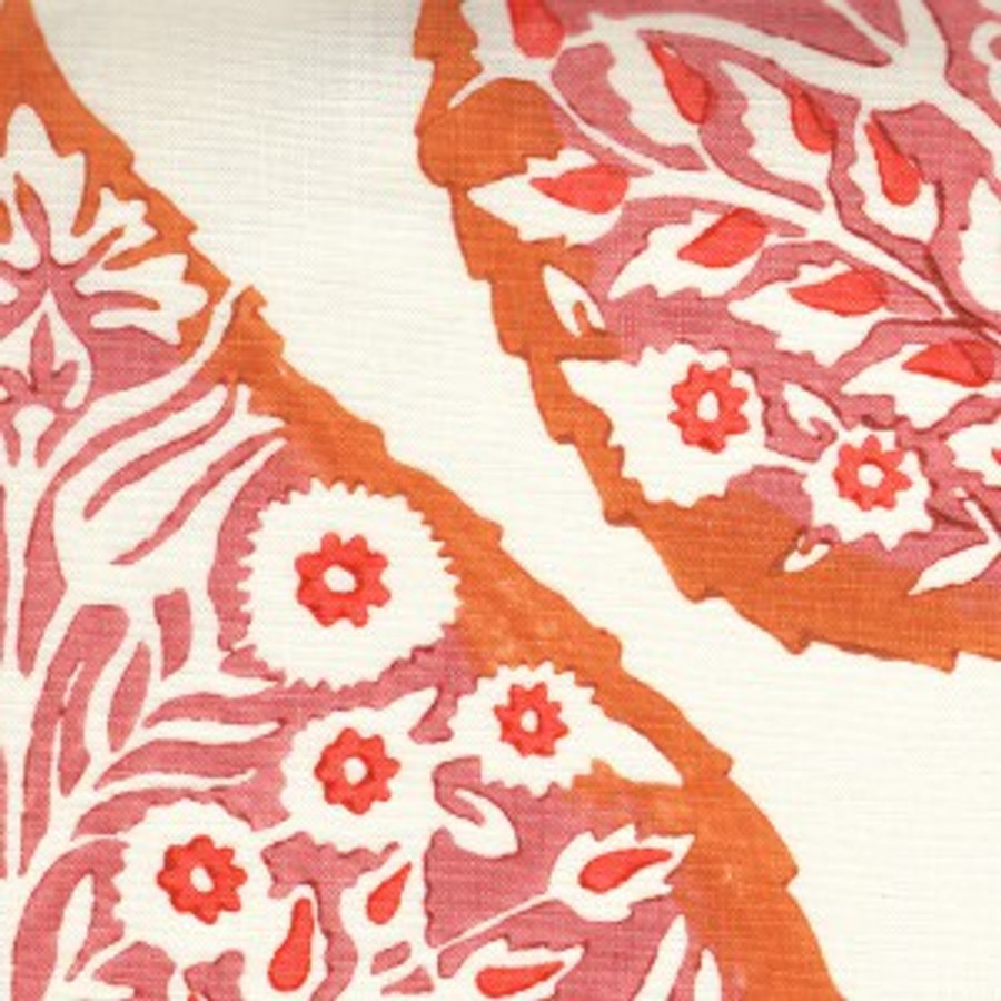 Galbraith & Paul Roman Shades in Lotus Mineral on Cream (Emily C. Butler Interior Design)