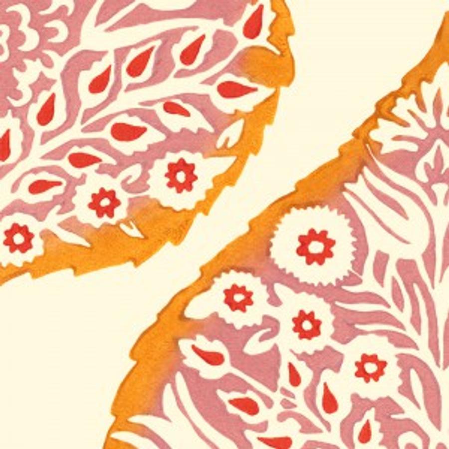 Lotus Wallpaper Orange