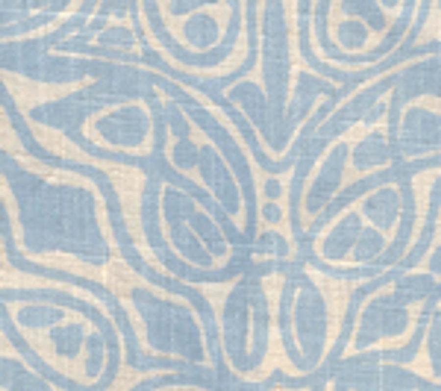 San Michele Parma Blue on Beige-302252F