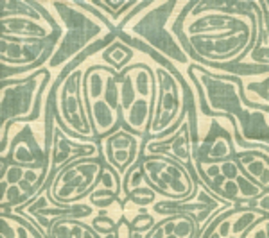 San Michele French Green on Beige-302253F
