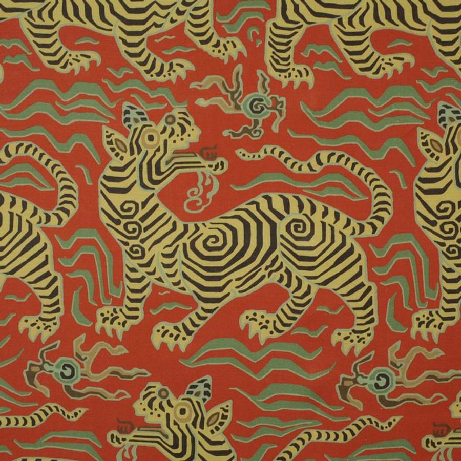 Clarence House Tibet Pale Cinnabar 34706-5