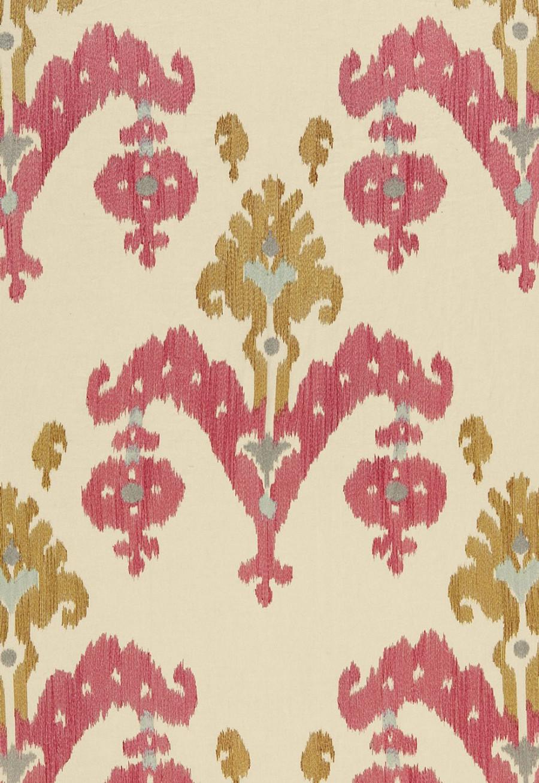 Schumacher Martyn Lawrence Bullard Raja Embroidery in Caravan 65810