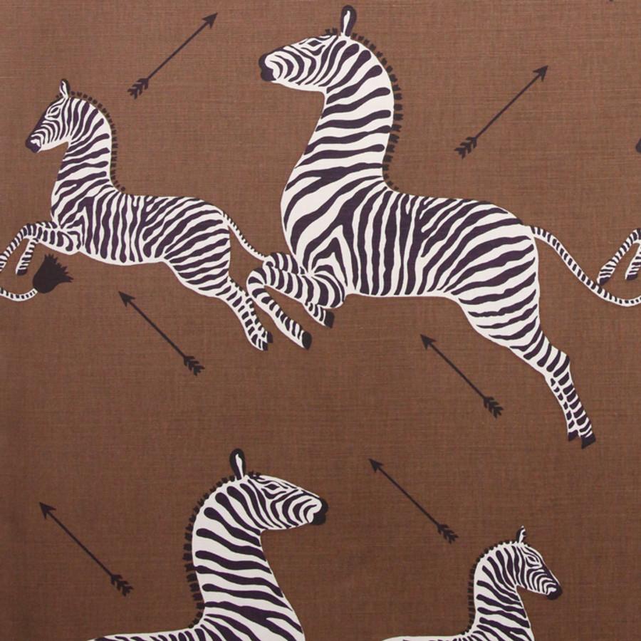 Scalamandre Zebras 16496-003 Safari Brown