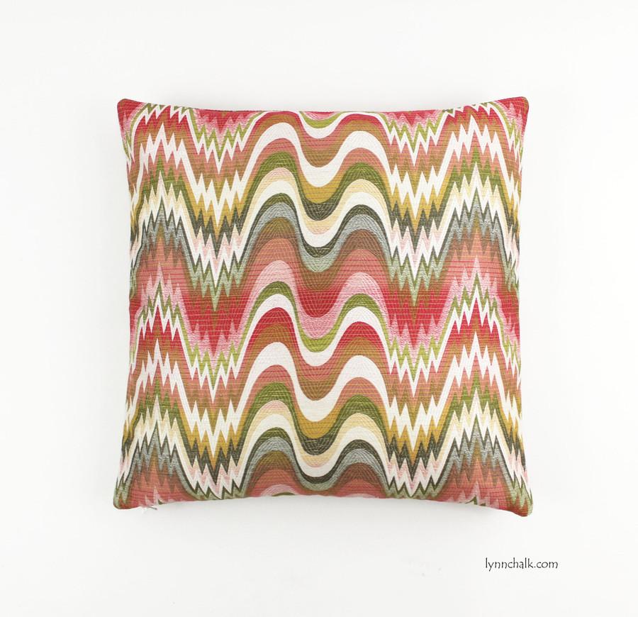 Custom Pillow in Acid Palm Watermelon (20 X 20)