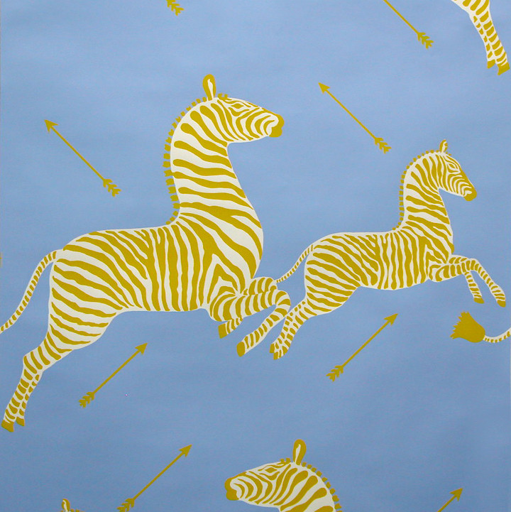 Scalamandre Zebras Wallpaper Wallcovering