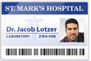 Medical ID cards printed with LX900