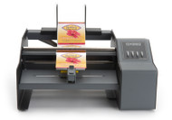 Primera label dispensers presents labels for quick and easy application to you product