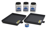 AP550 Container Holder Kit, Large (includes two tray assemblies, molding compound (3), roll of UHMW tape, and instruction manual)