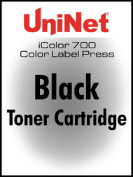 iColor 700 Digital Press Black toner cartridge