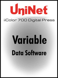 iColor 700 Digital Press Variable Data Software