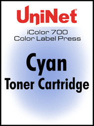 iColor 700 Digital Press Cyan toner cartridge