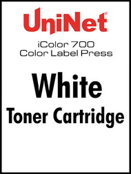 iColor 700 Digital Press White toner cartridge