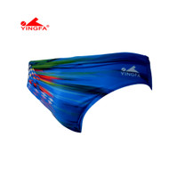 Yingfa 9302-2 Sharkskin Raching Briefs - Blue/Multi