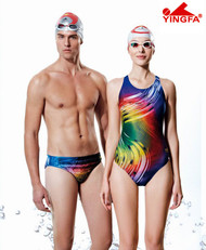 Yingfa 612 New Painted Raceskin Performance Women's Swimsuit