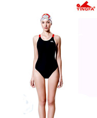 Yingfa YF613 Women's PBT Swimsuits - Black/Red