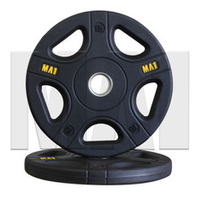 MA1 Pro Olympic Rubber Coated Weight Plate 15kg (Pair)