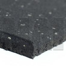 Rubber Gym Mat - Black