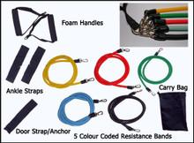 11 Piece Resistance Band Set