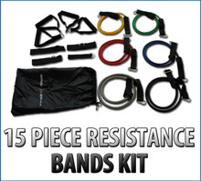 Energise Now 15 Piece Resistance Band Set - Home Use