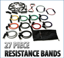 Energise Now 27 Piece Resistance Band Set