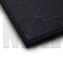 Rubber Mat Flooring - Blue - Close up