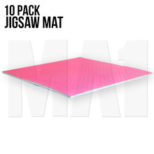 10 Pack Jigsaw Mat - 1M x 1M x 20mm, Blue / Red