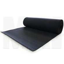 MA1 Premium Rubber Roll - 1m x 10m x 6mm, Black
