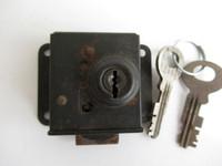 Western Electric 12B lock Vault door 2 Keys