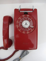 Red 554 wall telephone Classic Beauty