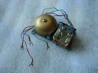 Brass bell mini ringer for all telephones