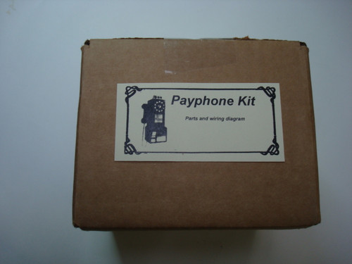 western electric and northern electric 3 slot payphone kit will image 1