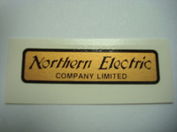Northern Electric water decal