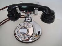 Western Electric 102 telephone in Chrome