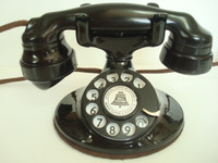 Western Electric 202 oval base telephone  E1 handset