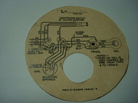 Monophone wiring diagram  cover mount 1A