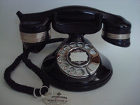 Automatic Electric Monophone 1A desktop antique  telephone.