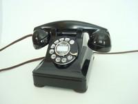 Western Electric Prewar metal 302  rotary telephone Restored  Working