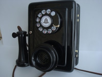1920 Western Electric 553  Candlestick Wall telephone