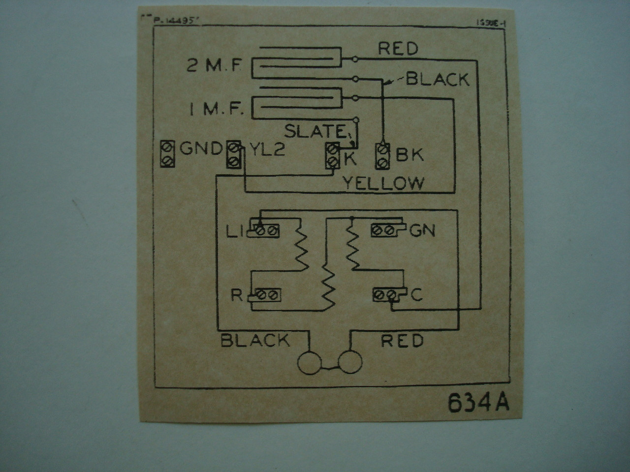 634 subset ringer    wiring       diagram    glue on  Old    Phone    Shop