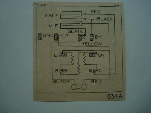 634 subset ringer wiring diagram glue on Old Phone Shop